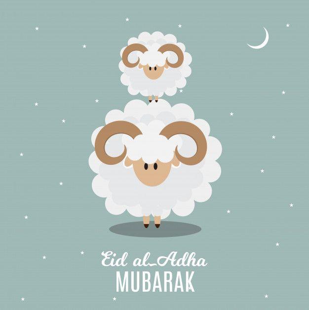 Eid Al Adha Kurban Bayrami Muslim Fest Premium Vector Freepik Vector Islamic Ramadan Celebratio Eid Al Adha Greetings Eid Al Adha Happy Eid Al Adha