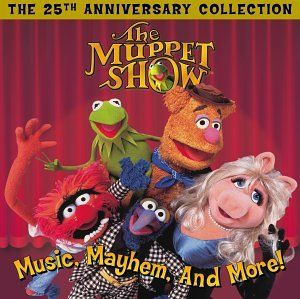 How many of us dreamed of hosting The Muppet Show?: Movie Muppets, Christmas Movies, Musicbooksmoviesart Tv, Anniversaries, Mayhem, The Muppets, Crazy Muppets, 25Th Anniversary