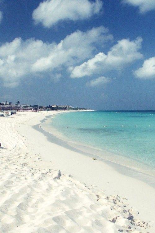 Beaches | Eagle Beach, #Aruba | I think I need to walk this beach. | Beautiful white sand