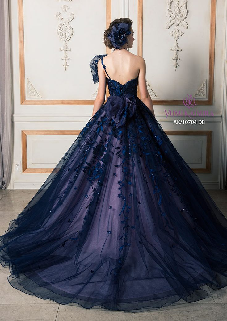 Love this beautiful color! This dress gives me a lot of design inspiration for my future bridesmaids' dresses.
