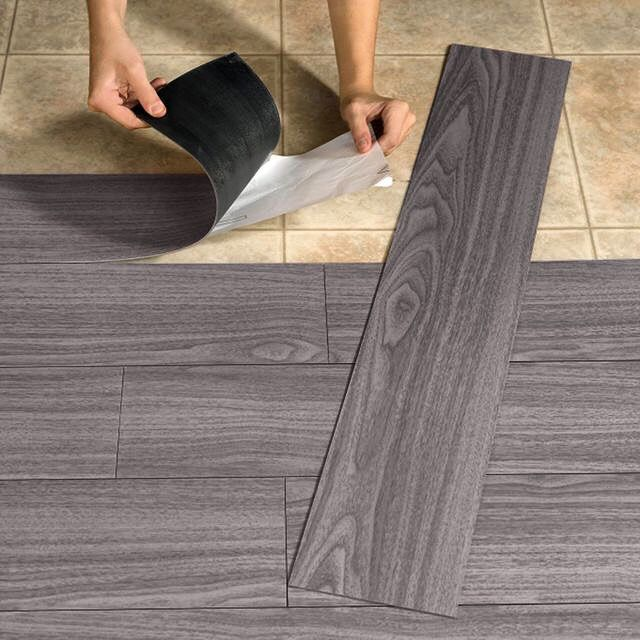 Brylanehome Peel and stick #Flooring #WoodLook