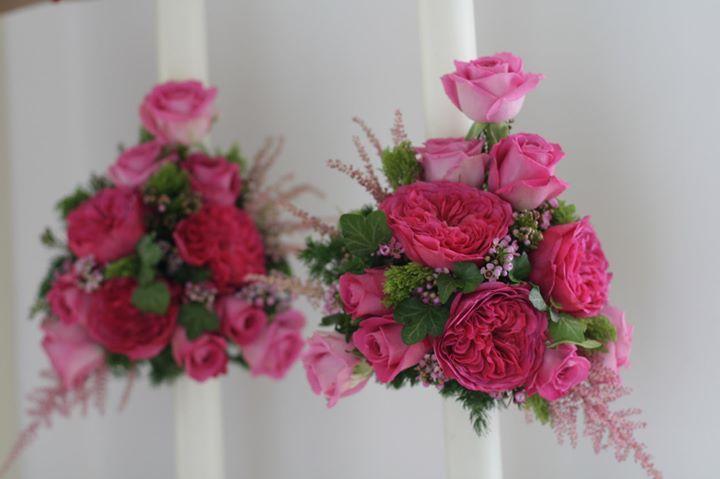 Lumanari nunta Trandafiri David Austin https://www.facebook.com/FlowersByAna