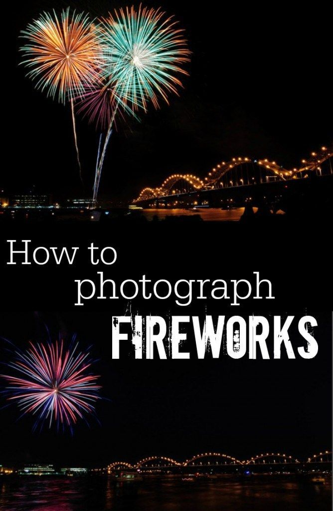 If you're heading out to watch the fireworks tonight, make sure to read these three articles first! How to Photograph Fireworks by Decor & the Dog How to Photograph Good Enough Fireworks …