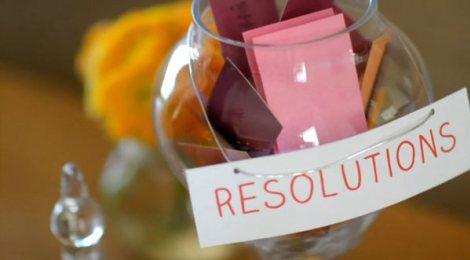 Resoluções para 2015
