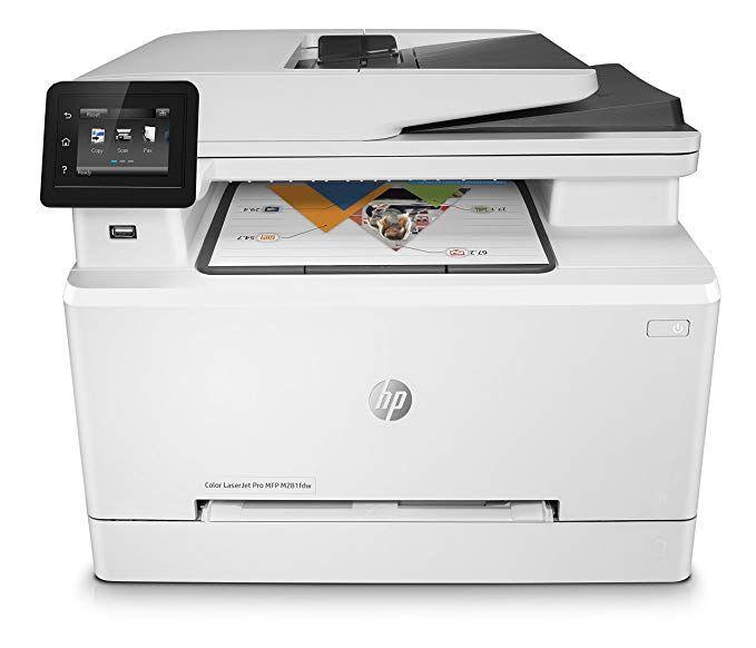 Hp Color Laserjet Pro M281fdw Multifunktions Farblaserdrucker
