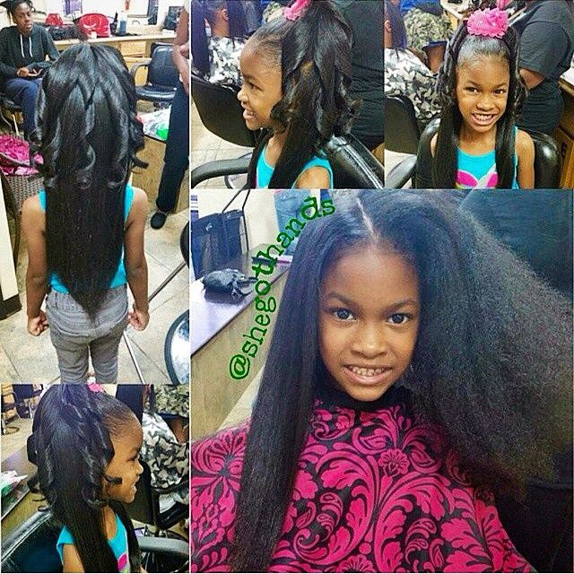 lil black girls hair styles stylist feature lahairstylist shegothands silked this 9696 | e7ea8e07e81d620b682bc041df0b91c3 little girl hairstyles children hairstyles