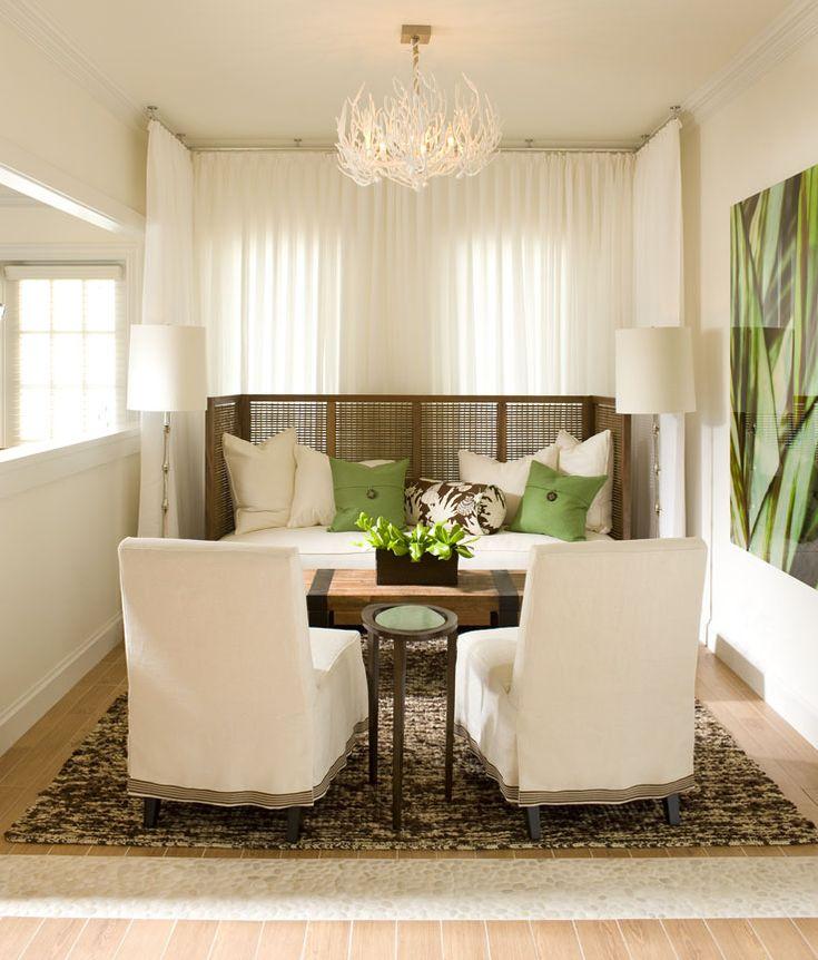 Simple Small Living Room Interiordesign: Sitting Room #sittingarea #beachhouse #green