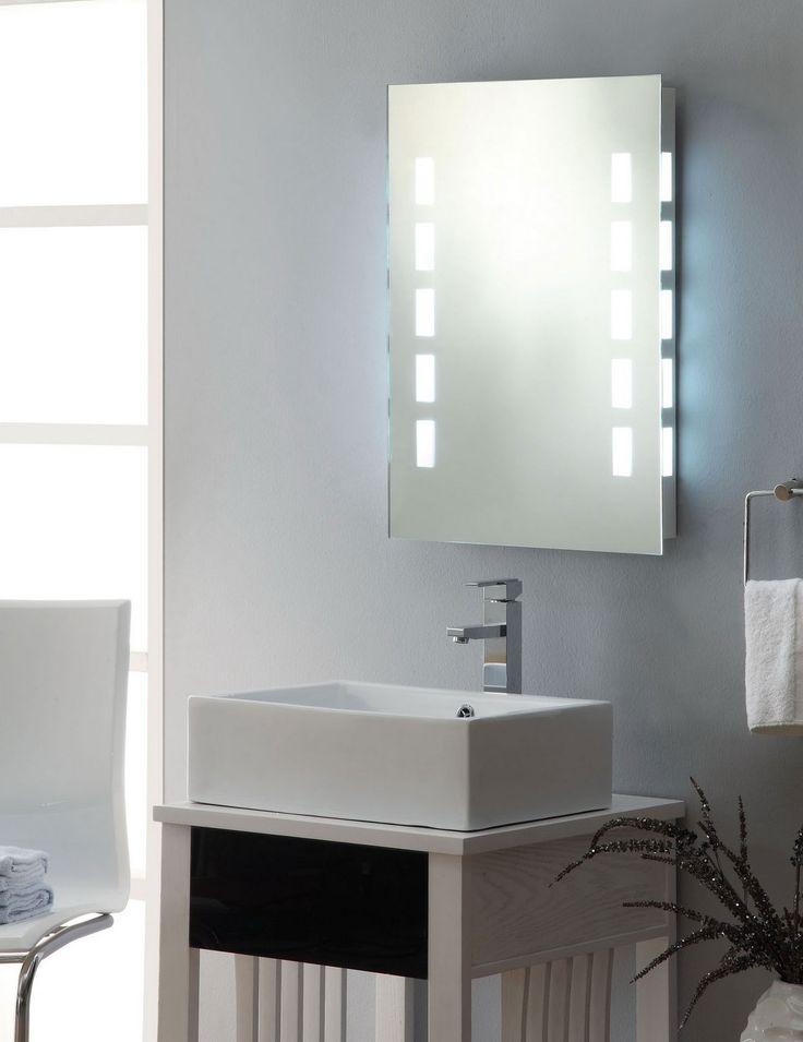Bathroom   Modern Bathroom Mirror Ideas Made In Form Medicine Cabinet And Gave Hidden Led Light. 1000  ideas about Badspiegel Mit Led Beleuchtung on Pinterest