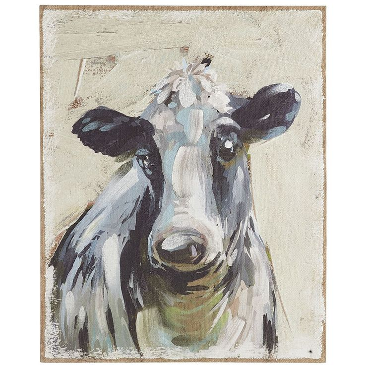 Cow Wall Art 18 best cattle canvas images on pinterest | cow painting, cow art