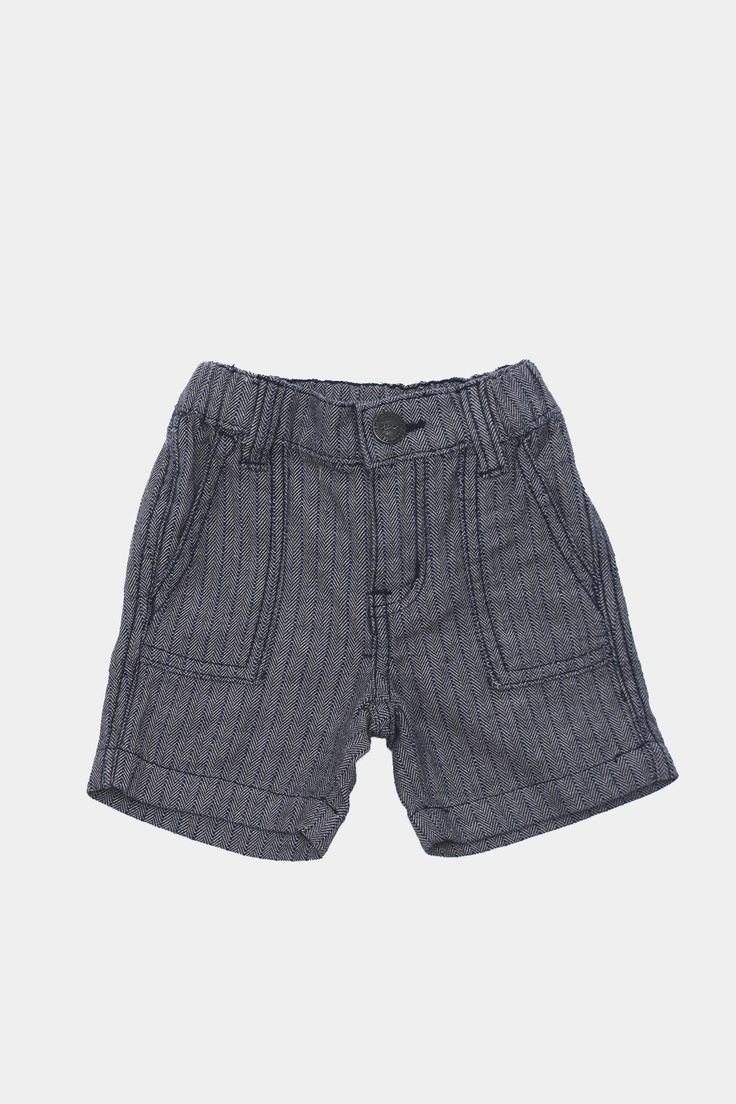 Street Stripes Kid Shorts - Tigertree - 1