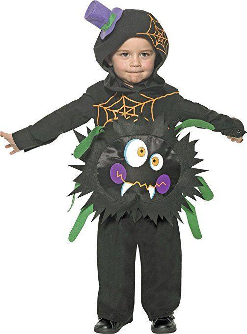 Spinnenkostüm für Kinder 3-4 Jahre (T2) #halloween #gadget #kostuem
