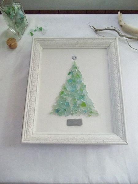 Sea glass tree - beautiful