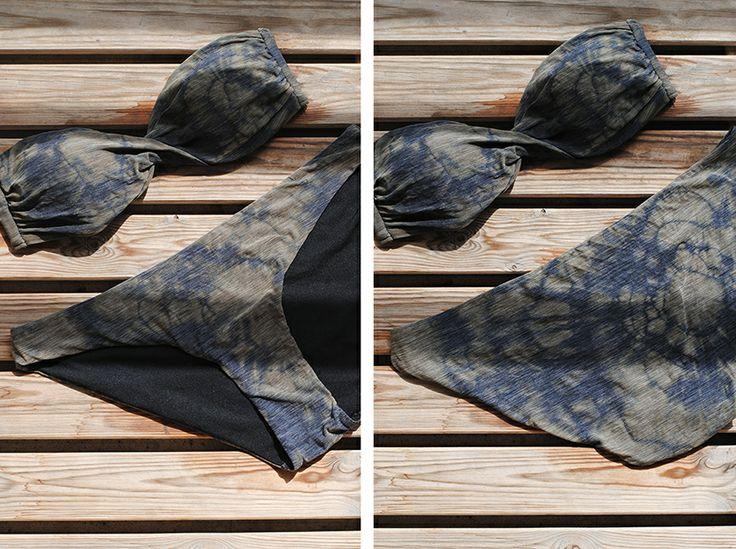 Blog Mode & DIY - Youmakefashion.fr - Margot: DIY #41 : le maillot de bain tie and dye