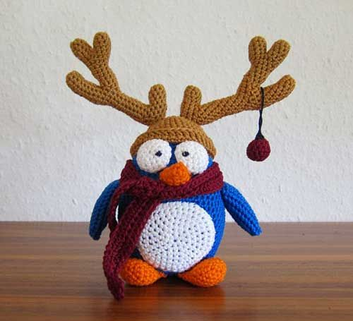 Download X-mas Penguin Amigurumi Pattern (FREE)