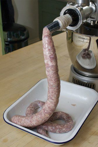 How to make pork sausages