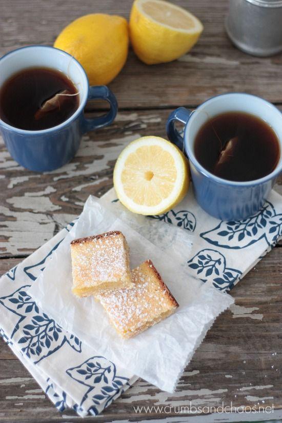 Lemon Squares | recipe on www.crumbsandchaos.net