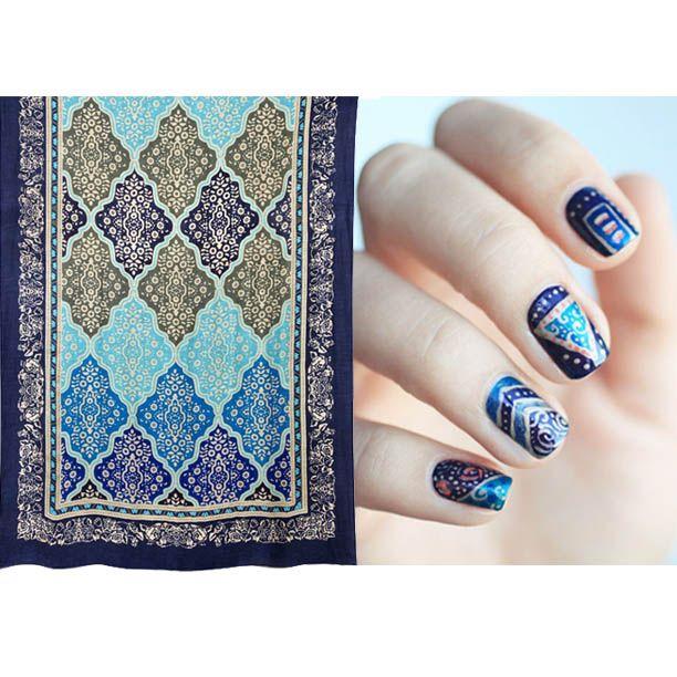 Mosaic #manicure