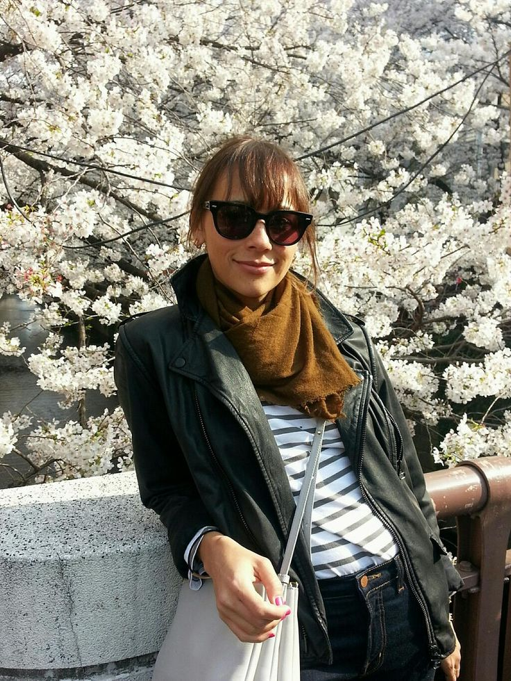Rashida Jones. Cherry blossoms!!!