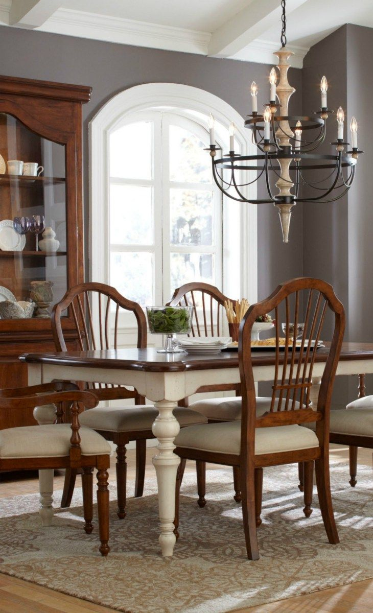 Wall Color With The Farmhouse Table J Adore Pinterest Table And Chairs Colors And Chairs