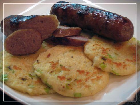 German Potato Pancakes & Brats!