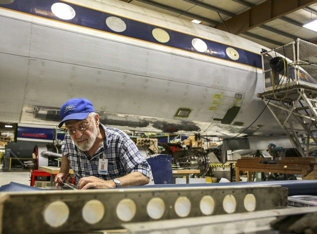 At Paine Field, they're restoring seminal jetliner, the Comet