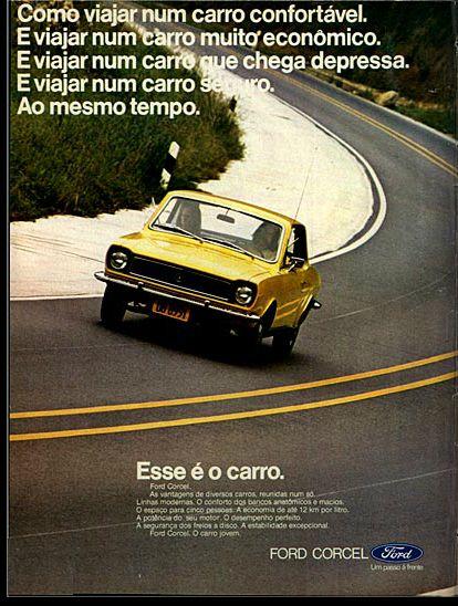 1973 Ford Corcel - Brasil