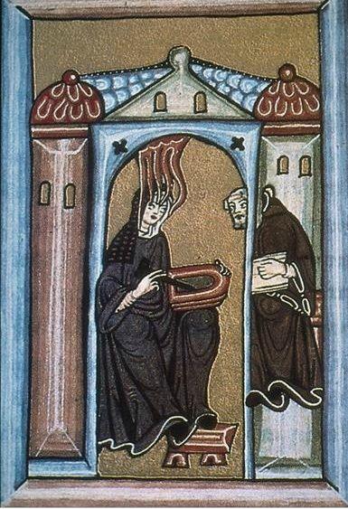 Illuminated Manuscript pages,Hildegardof Hildegard'sVision Bingen,late1100s(MiddleAges)