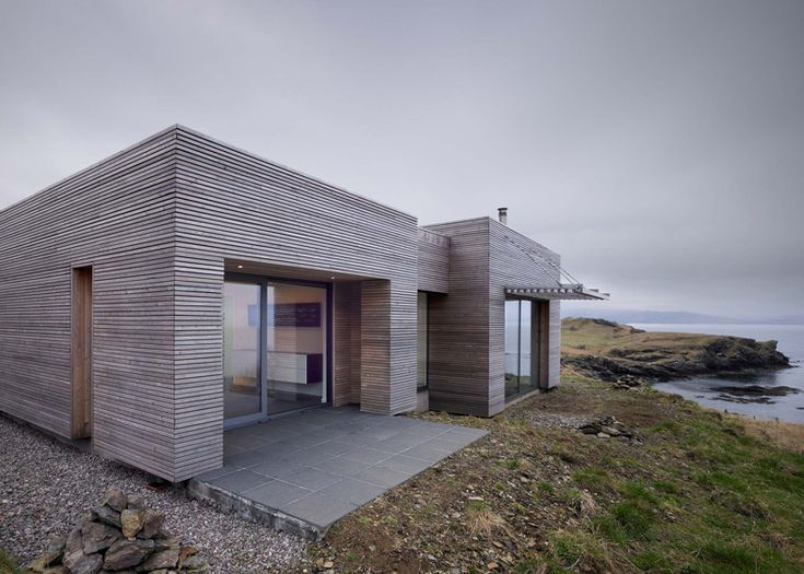 Tigh Port na Long by Dualchas Architects.