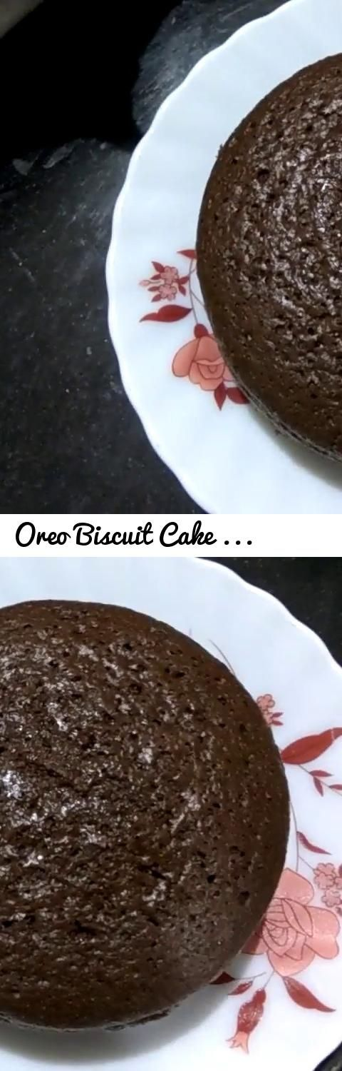 Oreo Biscuit Cake Recipe in Hindi using Cooker | Eggless Yummy Easy Cake Recipe using Oreo Biscuits... Tags: Cake Recipes, Cooking Recipes, Veg Recipes, Oreo, Biscuits, Eggless, Cooker, without oven, without oven