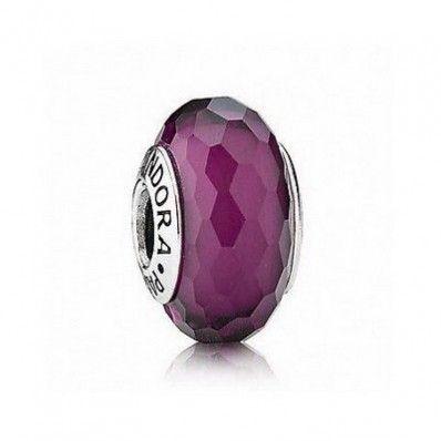 Pandora Murano Glass Purple Fascinating Bead