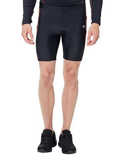 Oferta: 29.99€. Comprar Ofertas de Ultrasport 11046 - Pantalones cortos de correr para hombre, color negro / naranja neón, talla M barato. ¡Mira las ofertas!