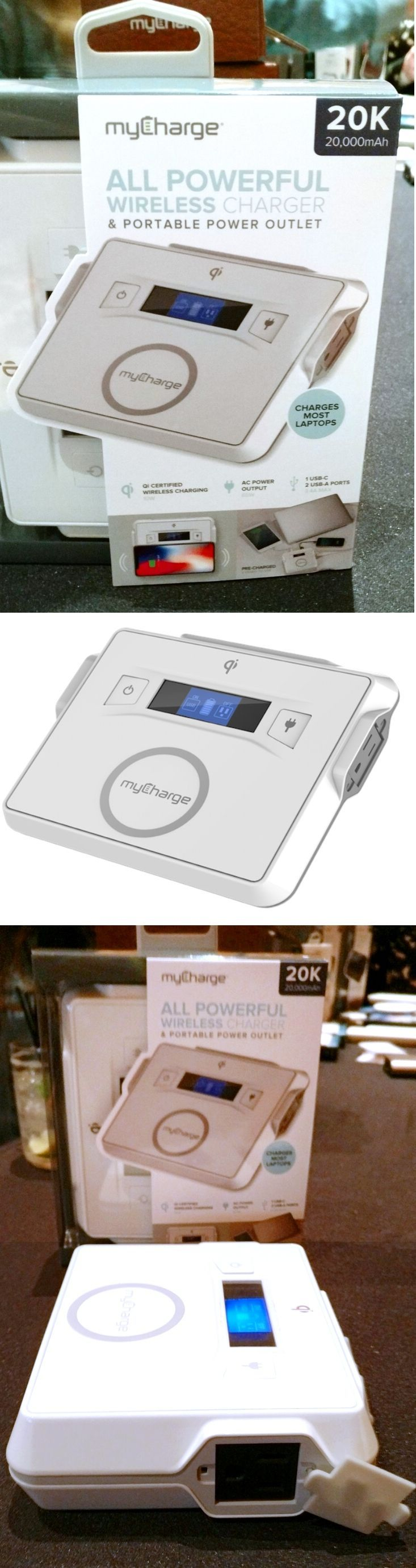 The new MyCharge All Powerful Wireless Charger covers all bases when it comes to reviving power-starved devices. In addition to its 20,000 mAh battery, two USB ports and single USB-C port, the $200 unit has a 65-watt AC outlet—enough to power a laptop or