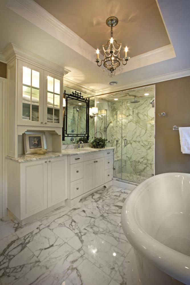 Bathroom Mini Chandeliers 13 best beautiful bath images on pinterest | bathroom ideas