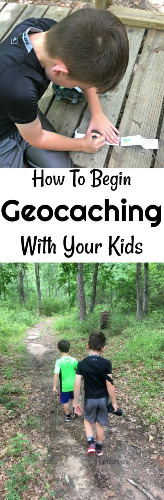 What is geocaching and how do you do it? It's so fun an great for the family! Geocaching with kids is such a fun pastime!!