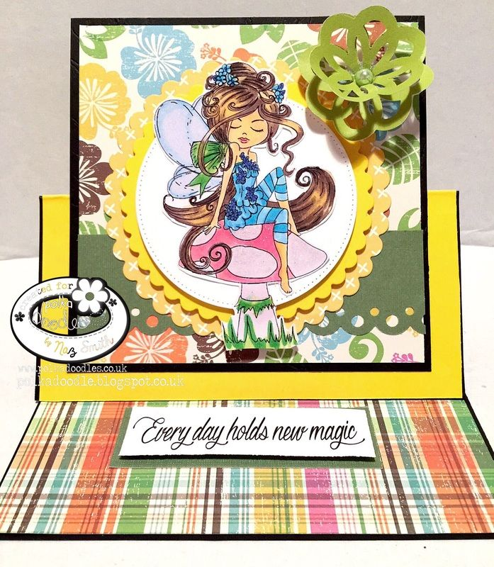 My Card for Polkadoodle's more than one fold challenge http://polkadoodle.blogspot.com.au/ My blog http://sasayakiglitter.weebly.com/blog