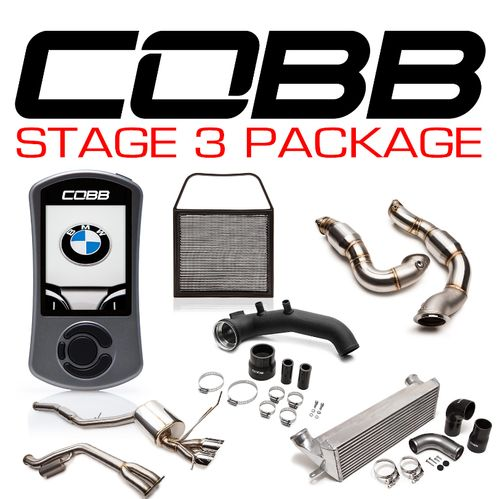 Cobb BMW N54 Stage 3 1-Series Power Package