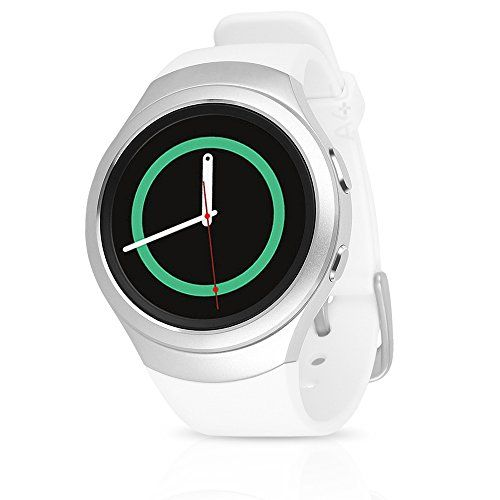 Samsung Galaxy Gear S2 Smartwatch SM-R730T (T-Mobile) with Large Rubber Band – Certified Refurbished (White)  http://stylexotic.com/samsung-galaxy-gear-s2-smartwatch-sm-r730t-t-mobile-with-large-rubber-band-certified-refurbished-white/
