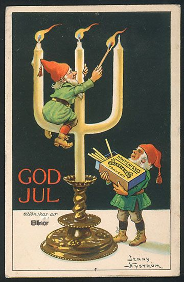 Wonderful old graphic from Ellinors Hus