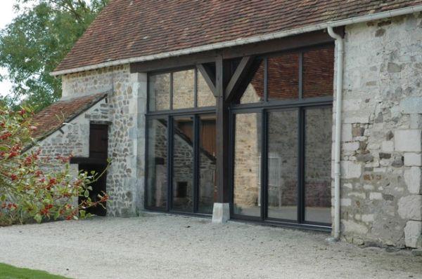 Fenêtres aluminium région Normandie - Logikinov, fenêtres, portes et pergolas à Caen