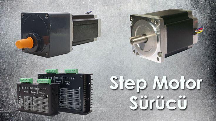 Step motor Neodymium mıknatıslar ile güçlendirilmiş sargılara amper verilerek rotor milinin pozisyon alması sayesinde yol alırlar.   İki fazlı motorlar için A ve B sargılarına sıralı yük verilerek rotor döndürülür. Rotor kuvveti Sürücüye verilen gerilim ve ve sürücünün ayarlandığı amper ile doğru orantılıdır.  http://www.sahinrulman.com/elektronik-urunler/step-motor-surucu/
