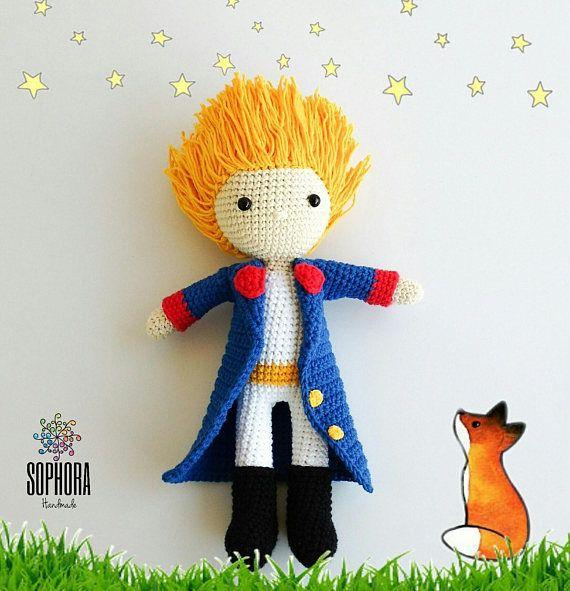 Little Prince Amigurumi Pattern /  El Principito Patrón Amigurumi https://www.etsy.com/es/listing/562499102/amigurumi-patternpatron-amigurumicrochet