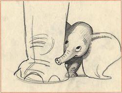 Bill Peet - Dumbo ✤ || CHARACTER DESIGN REFERENCES