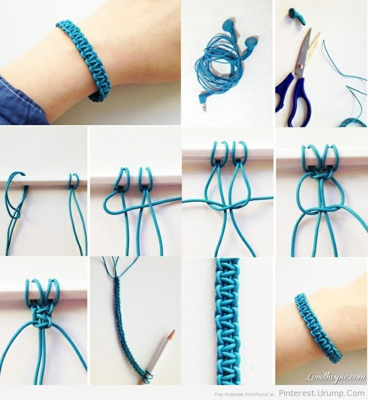 DIY Braided Bracelet Pictures, Photos, and Images for Facebook, Tumblr, Pinterest, and Twitter
