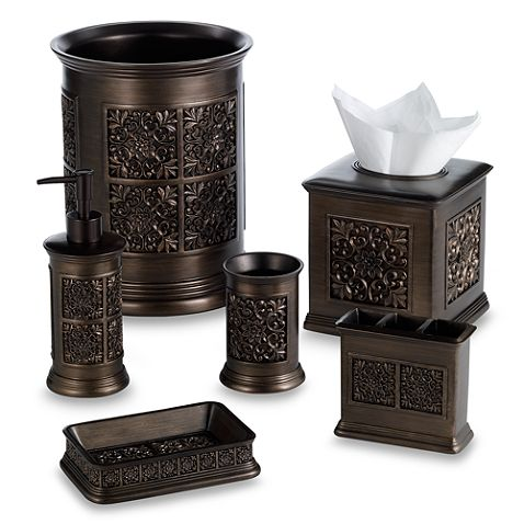 India Ink Imperial Bath Ensemble In Tuscan Gold Bed Bath Beyond Bat
