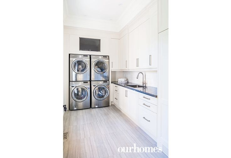 The large family means an extra-large space to handle plenty of laundry.  http://www.ourhomes.ca/articles/build/article/georgetown-car-collectors-french-chateaustyle-estate