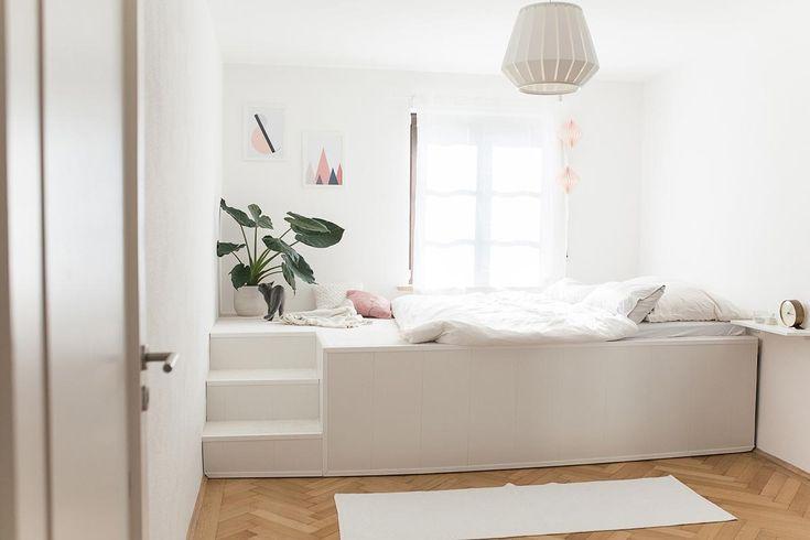 Das DIY-Video zum Podest-Bett, das Tom für unser Schlafzimmer - schlafzimmer la vida