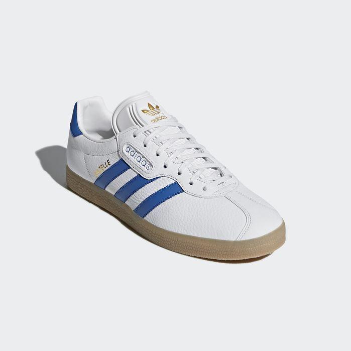 0ecd3f7849559 Gazelle Super Shoes White 9.5 Mens