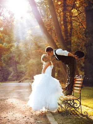 Bride and Groom Photo...I think this would be cuter the other way around