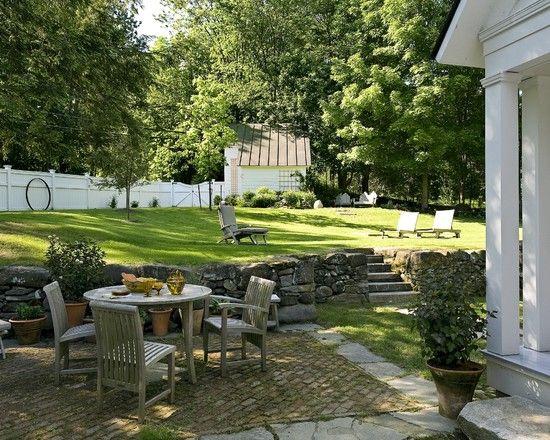 antique cape norwich vt hinterhof terrassen designskleiner - Ideen Fr Kleine Hinterhfe Ohne Gras