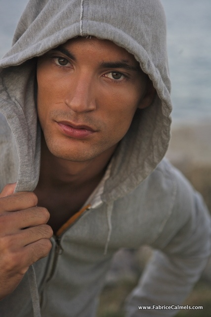 Chicago hottest male model Fabrice Calmels